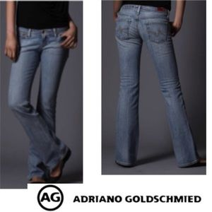 AG  Adriano Goldschmied The Merlot Boot Cut